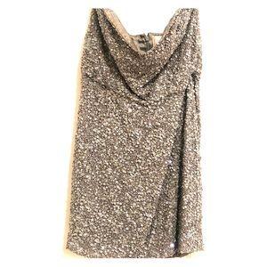 Parker Grey sparkly mini dress
